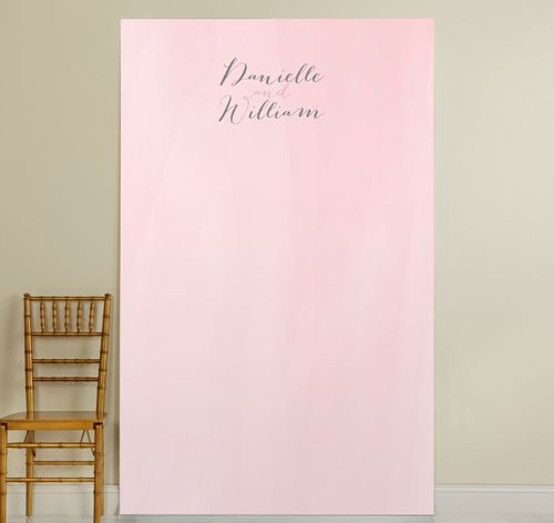 Pink Water Color Photo Backdrop