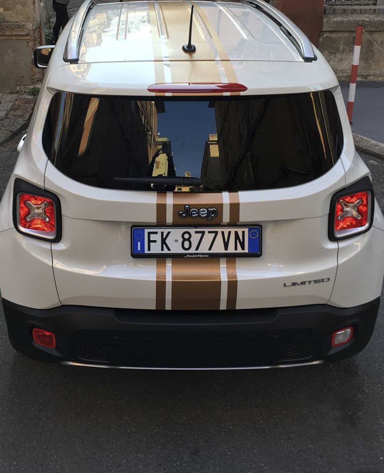 Car Wrapping Jeep Dall Alto Jeep Renegade Jeep Jeep Renegade