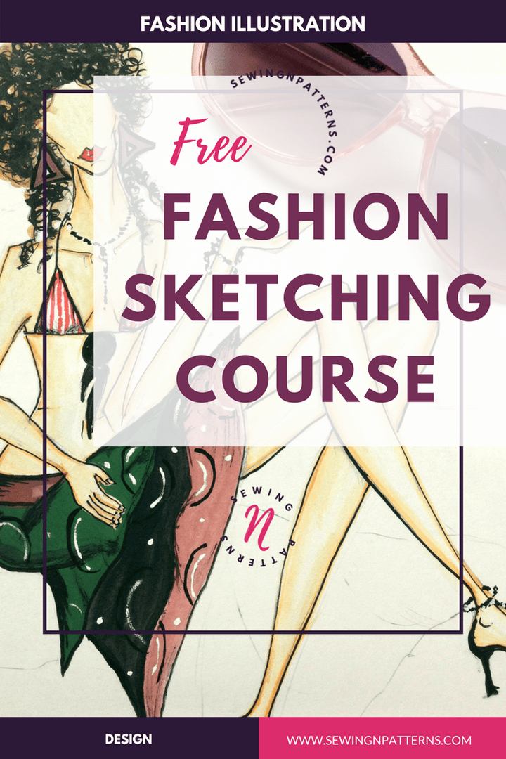 Sketch Like Pro In 30 Days With Free Fashion Illustration Course With Images Fashion Drawing Tutorial Dress Design Drawing Fashion Illustration