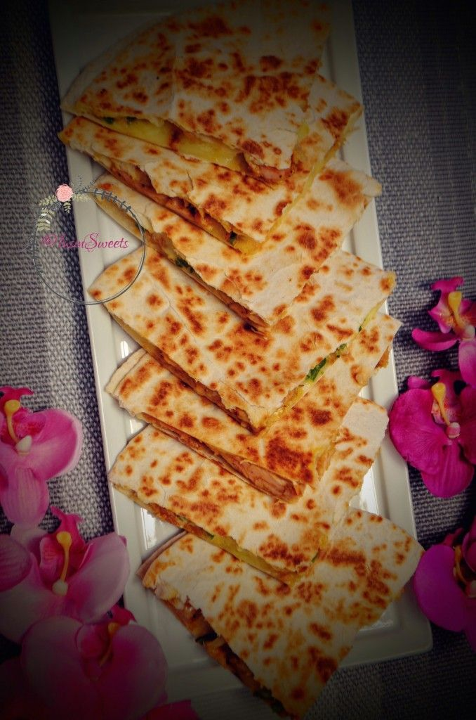 كاساديا الدجاج المكسيكية روعة المذاق المكسيكي الاصلي Balsamic Chicken Food Cooking