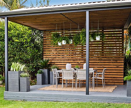 Lovely Home Dzine   Turn A Carport Into A Stylish Patio   Whether You Renovate An