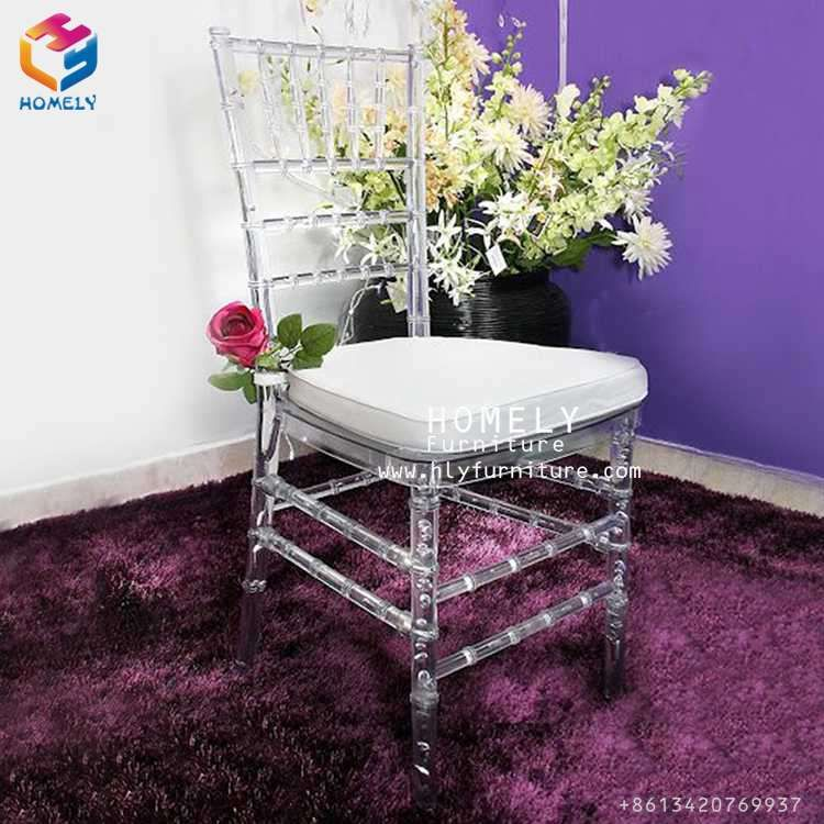 wholesale cheap sale ghost wedding hotel silla white crystal clear