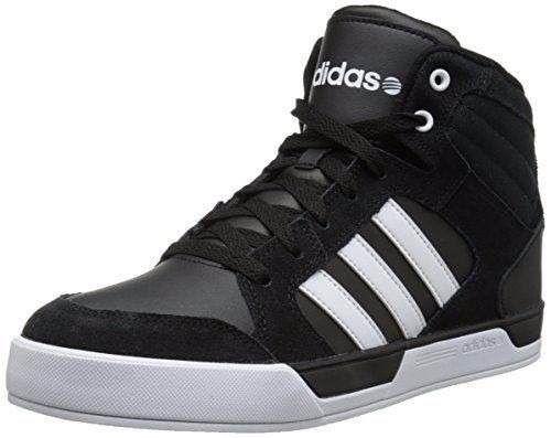 Botas Negras Rayas Blancas Adidas Neo Raleigh Originales Caj ...