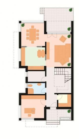 Planos de casas modernas de dos pisos por dentro y por for Casa moderna con parquet