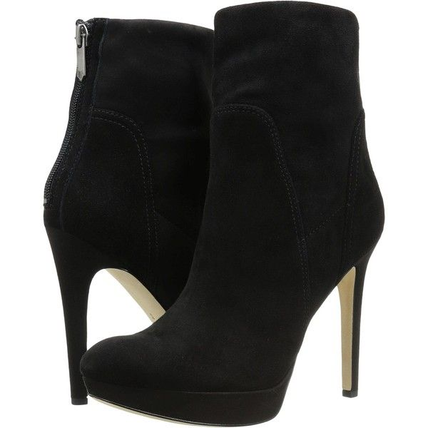 Sam Edelman Alyssa Black Suede Women s Shoes 75 liked on Polyvore