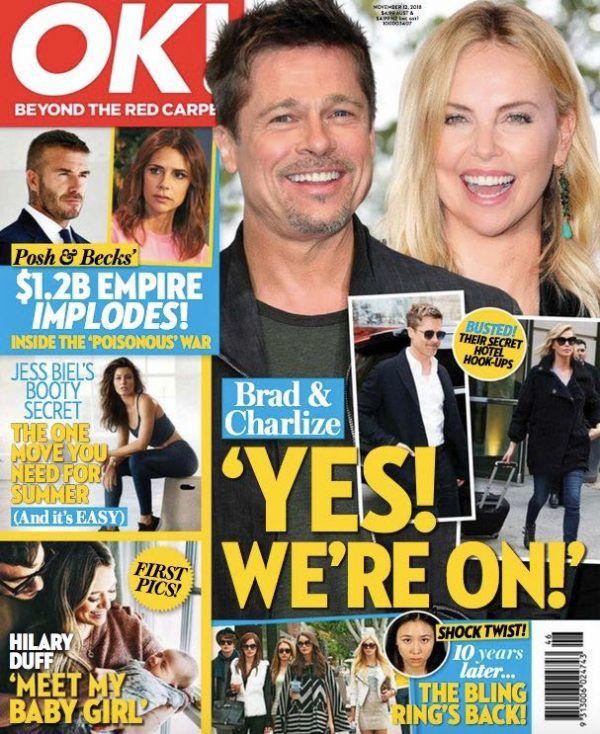Brad Pitt, Charlize Theron NOT In 'Secret Romance