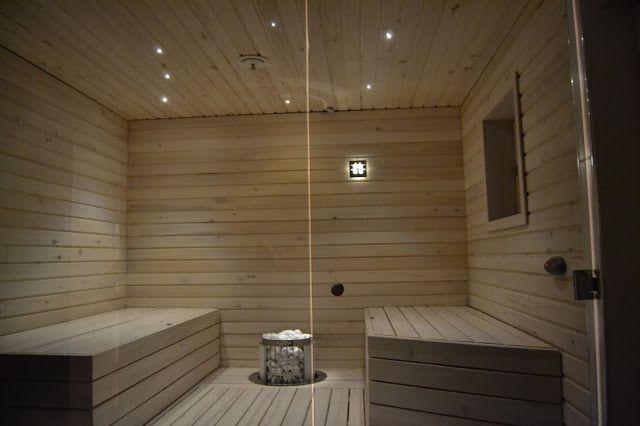 Elämää Pyhäjärven rannalla: Valmis kylppäri&sauna