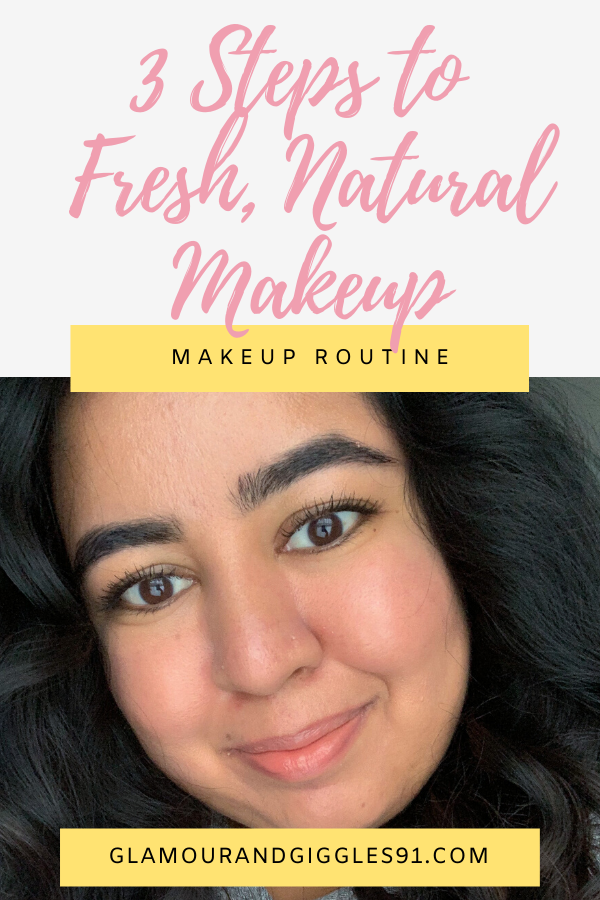 Natural and Fresh My Every Day 3 Step Makeup Routine