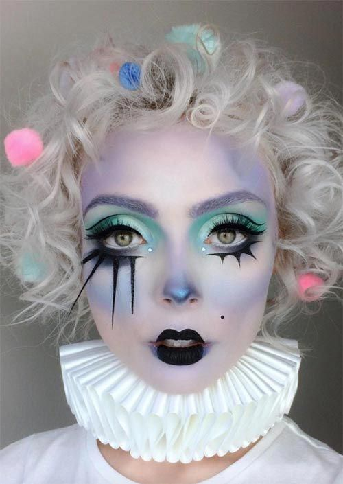 Maquillaje Halloween Mujer 2020 51 Creepy and Cool Halloween Makeup Ideas to Try in 2020
