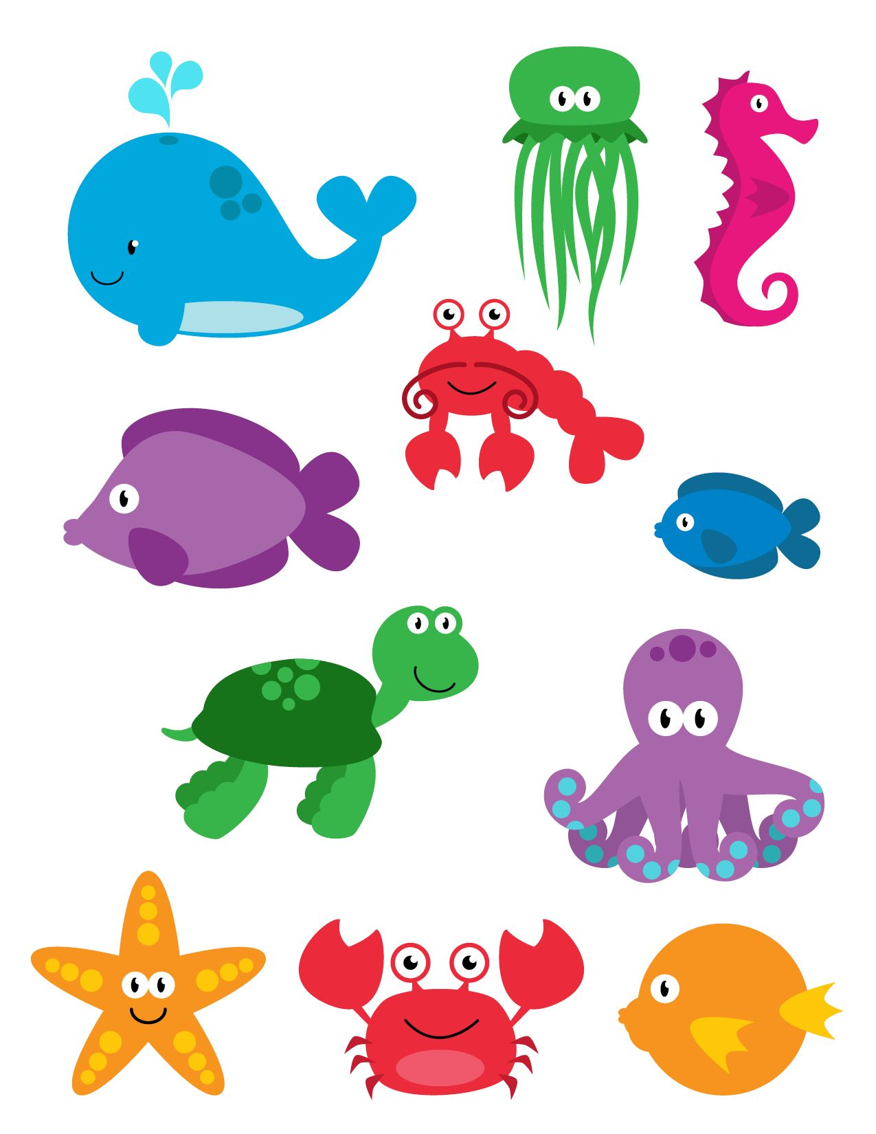 Fun Sea Creatures