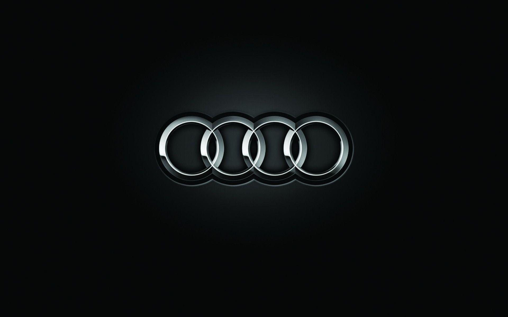 Audi Black Logo Hd Wallpaper