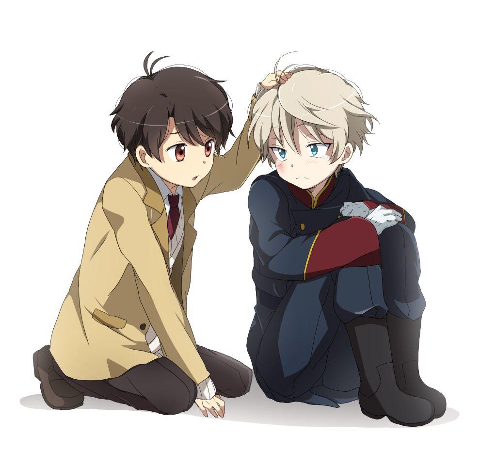 Anime Characters Zero : Aldnoah zero zerochan slaine inaho main