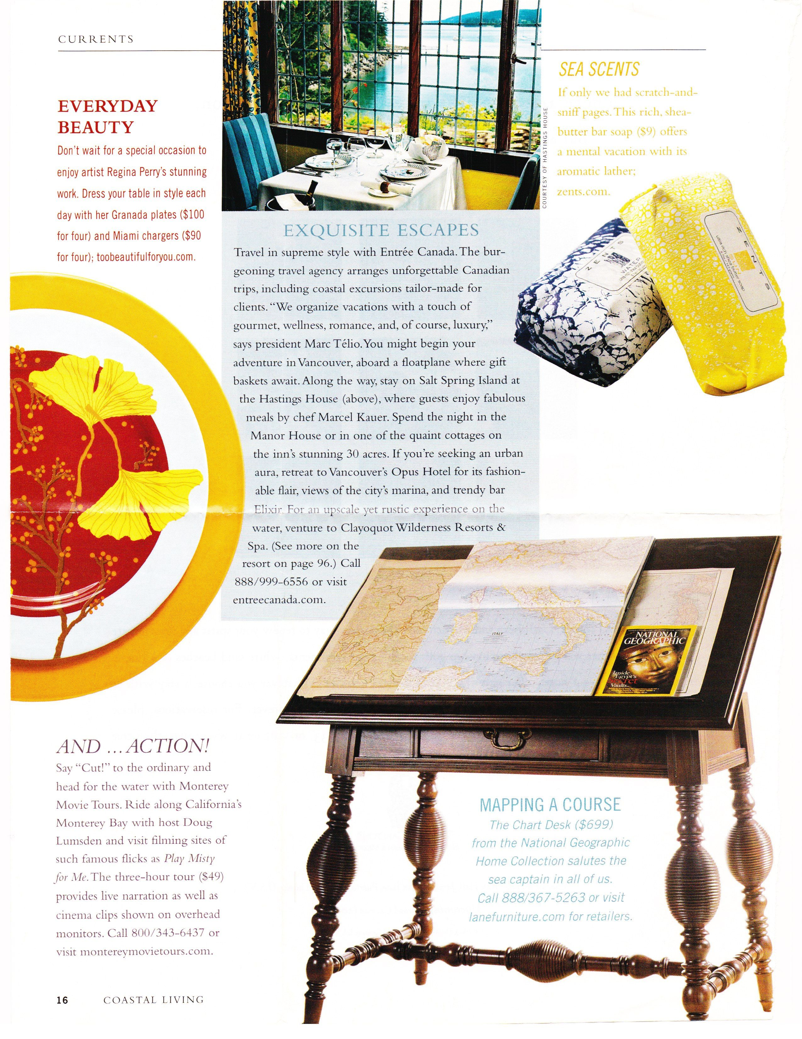 the chart map desk from the national geographic home collection by