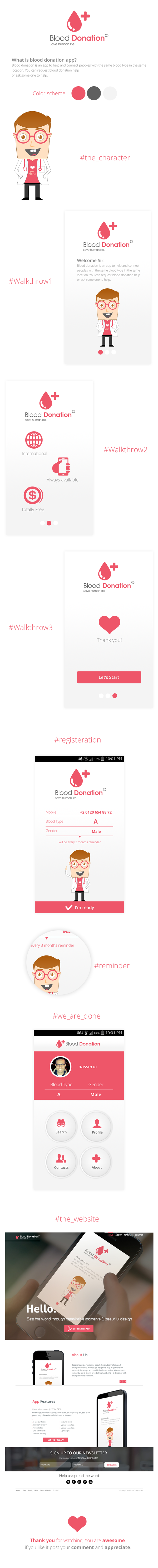 blood donation camp poster on behance book cover blood donation app ui ux design by nasserui via behance