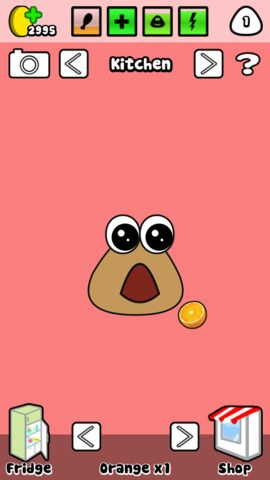 Play Pou Game Online Pou With Images Kids App Virtual Pet App