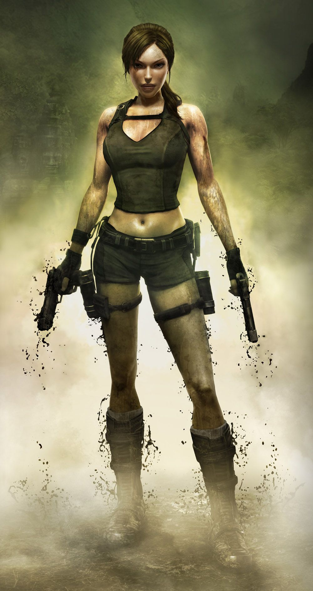 Lara Croft of Tomb Raider