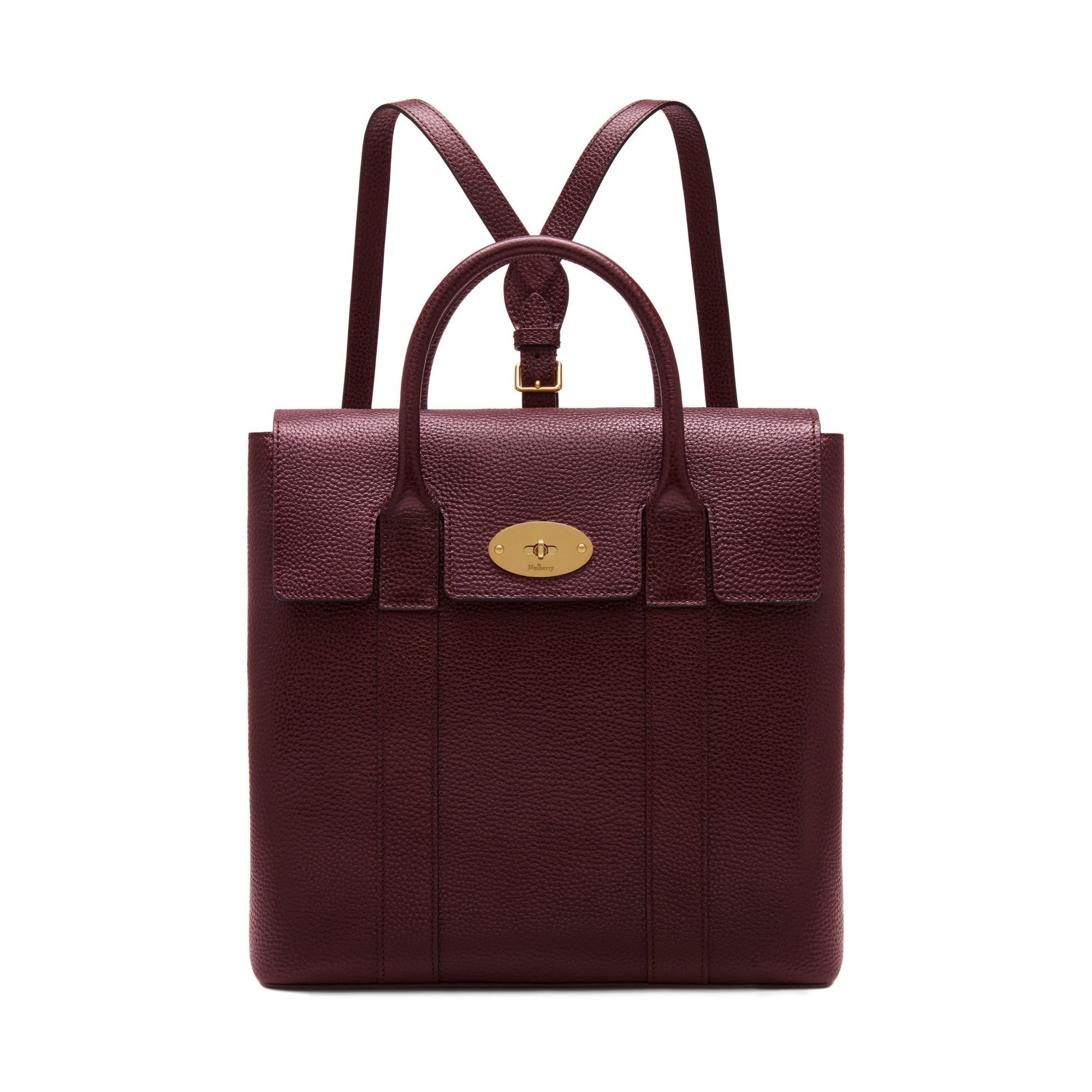 ... reduced mulberry bayswater backpack in oxblood small classic grain  d4902 f2d05 e04b21f277f33