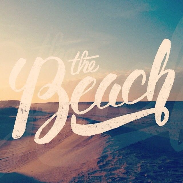 typography good beach font | Typography & Fonts | Beach fonts