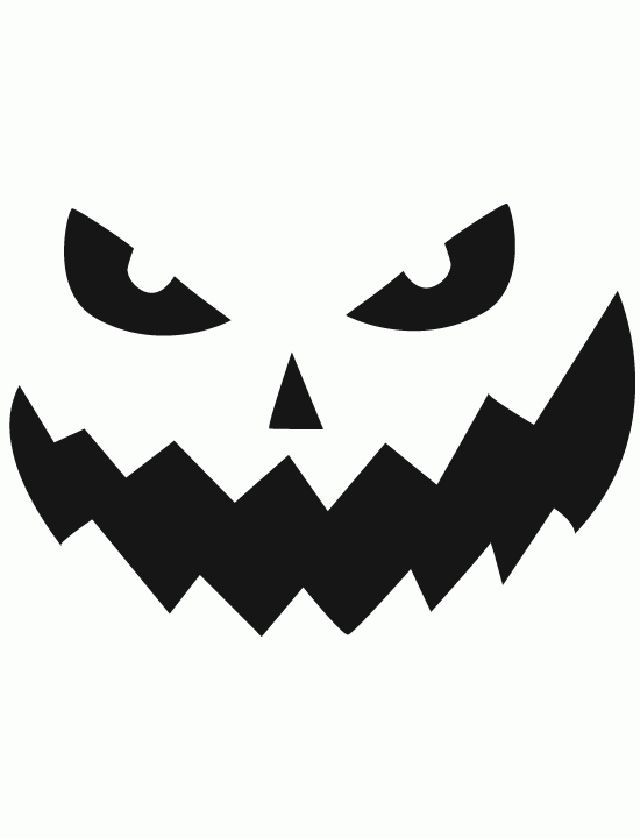 Jack Olantern Cut Out Template