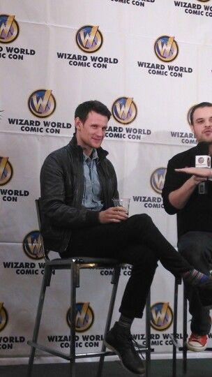 #Matt Smith interview at #WizardWorld #NewOrleansComicCon Feb 9 2014