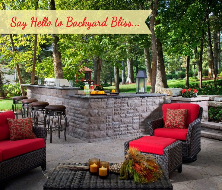 Wouldn't you LOVE to have such backyard in your dream home!