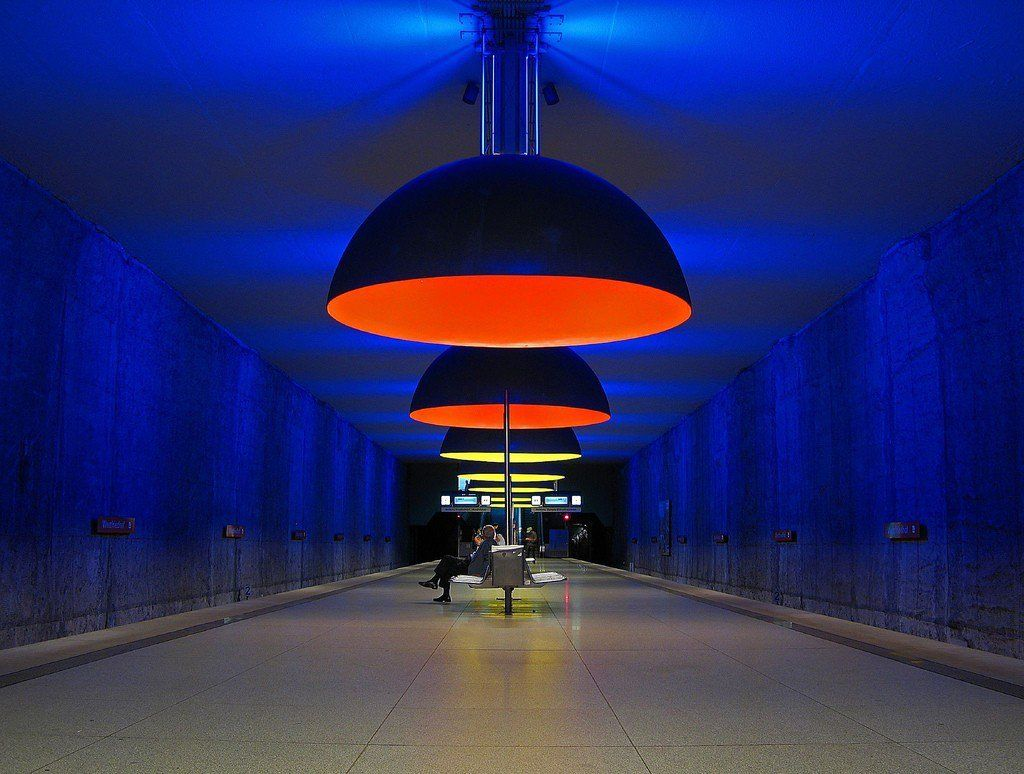 metro Westfriedhof Station, Munich