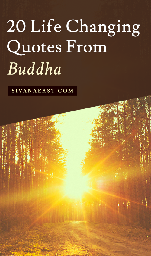 20 Life Changing Quotes From Buddha Inspiration Sivanaeast Com