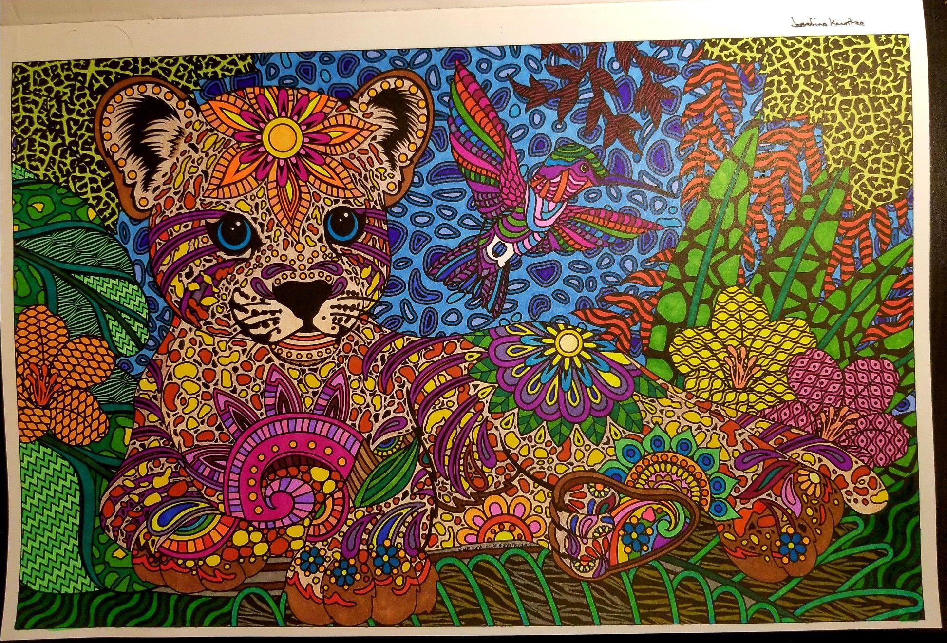 Color Me Lisa Frank