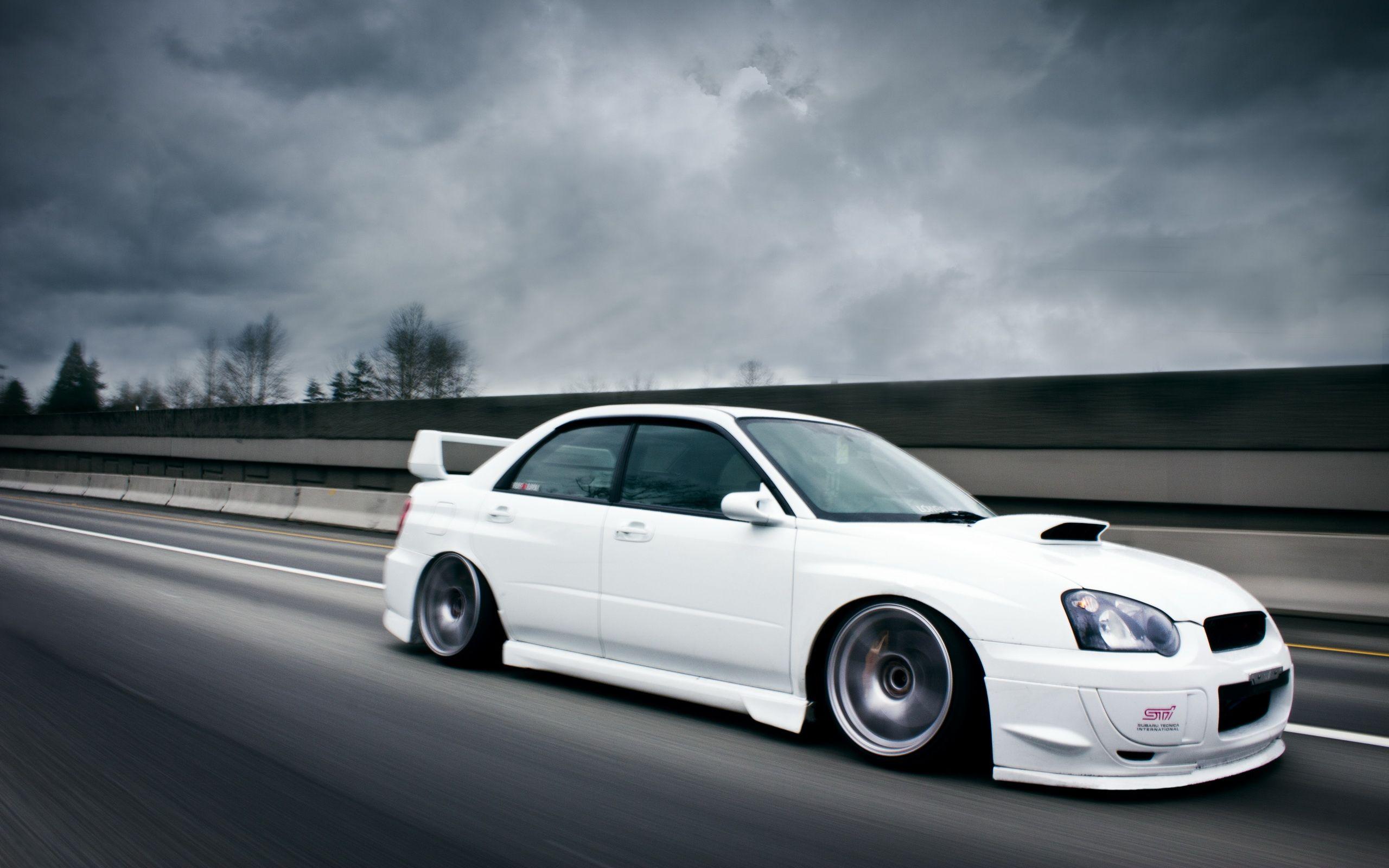 Subaru Impreza Subaru Impreza Sti White Wallpaper Hd 844 Hd