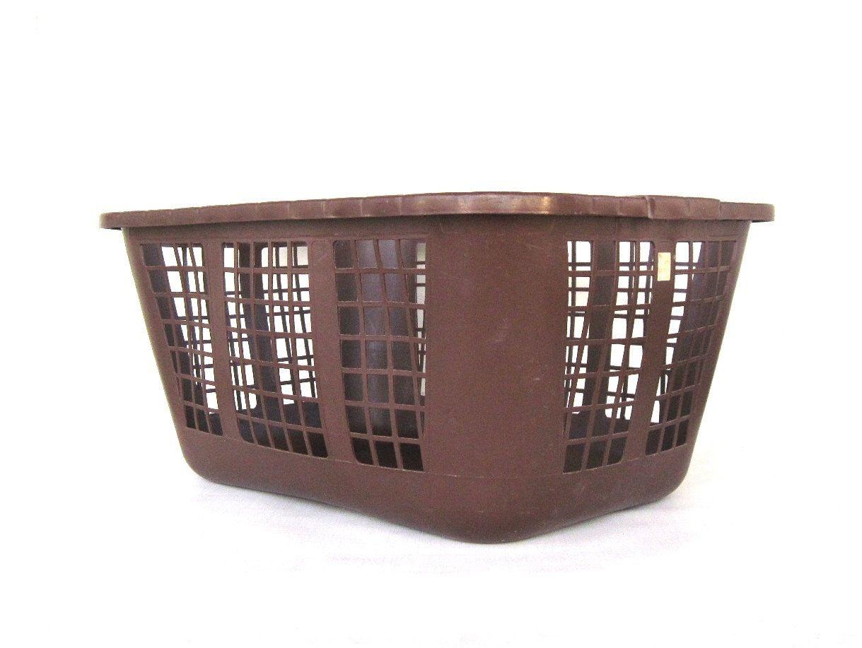 1980 Laundry Basket Kitchen Dining Plastic Clothes Shelves