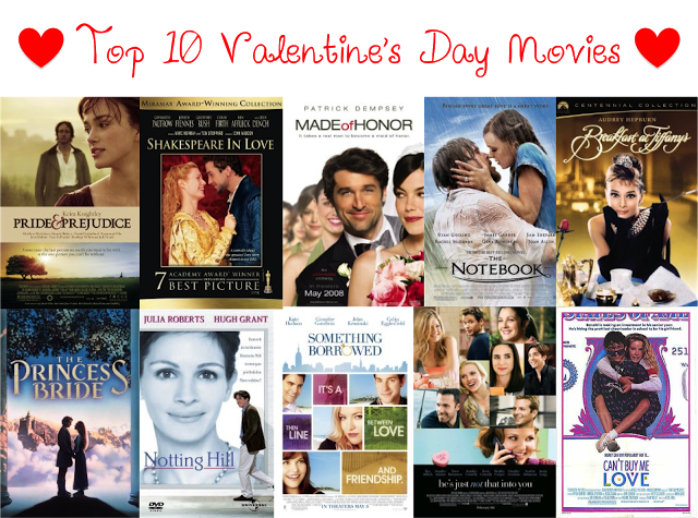 ♥top ten valentines day movies♥ | movies love to watch, Ideas