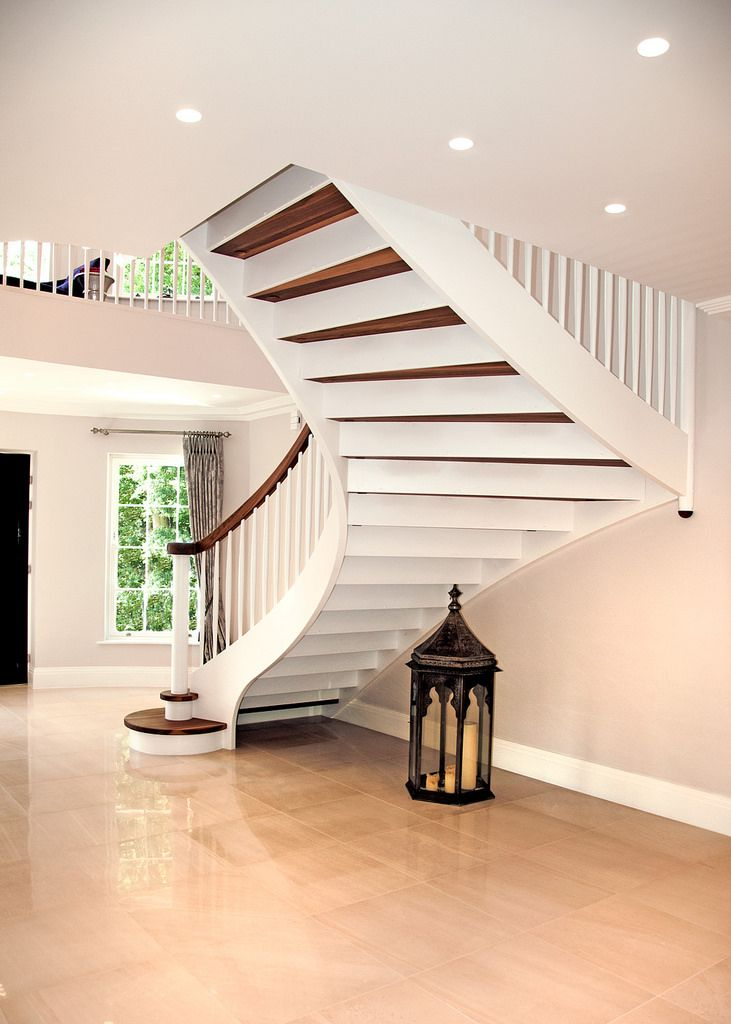 Cameron House 04 | Bespoke staircases, Stairs, Square ...