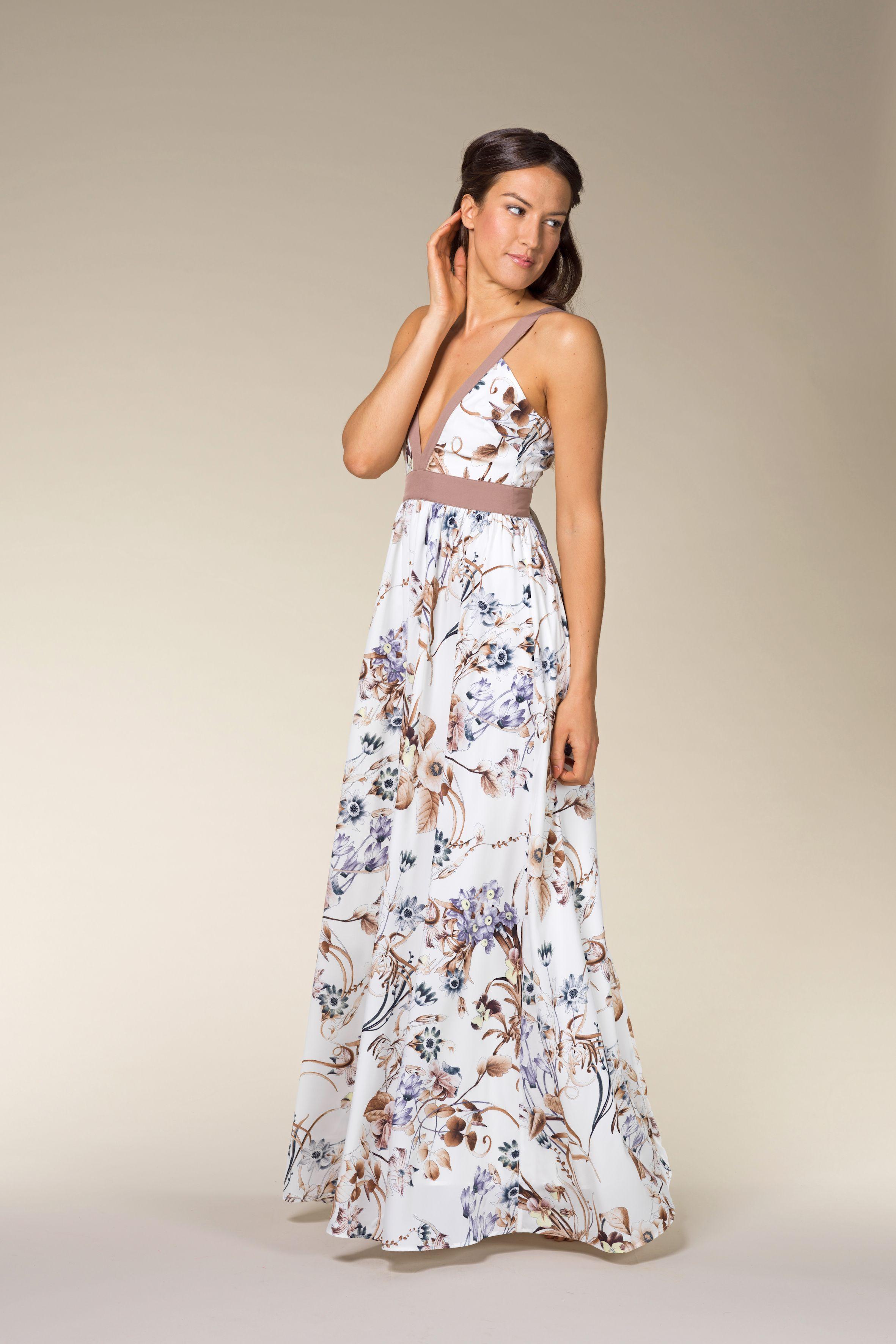 Victoria Floral Printed Maxi Dress Flower Maxi Dress Long Summer Dresses Maxi Dress [ 3544 x 2362 Pixel ]