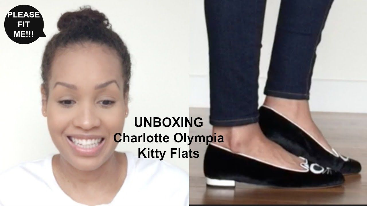 Unboxing Charlotte Olympia Kitty Shoes Designer Shoes Pinterest
