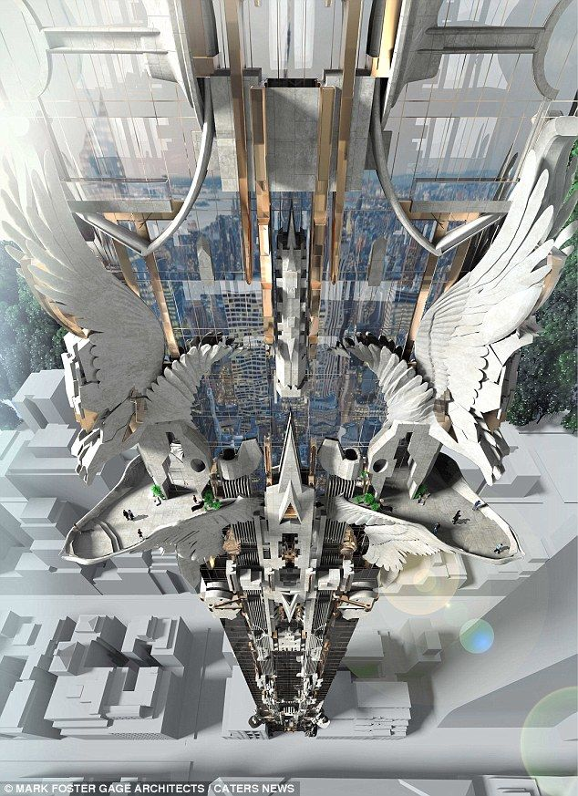 architect designs stunning 102 story michelangelo tower for nyc