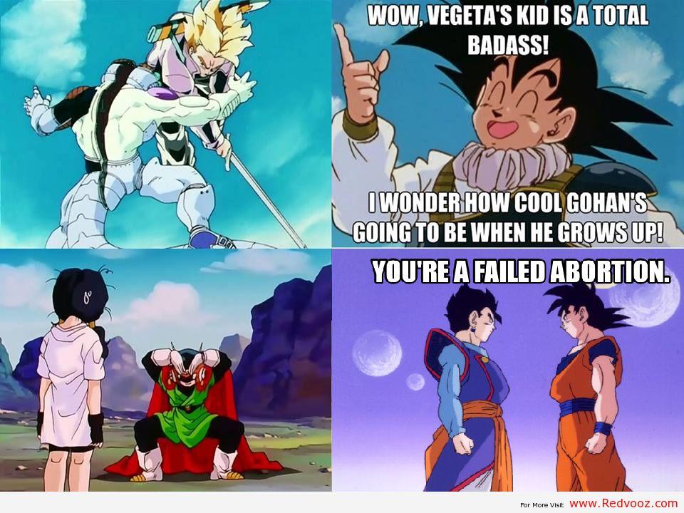 Funny Dragon Ball Z Abridged Memes : Dbz sons dragon ball z gt super abridged