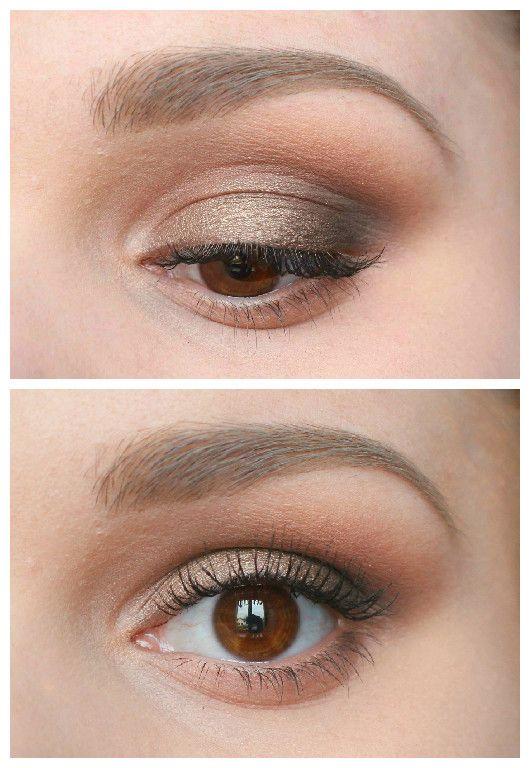 montage maquillage bronze