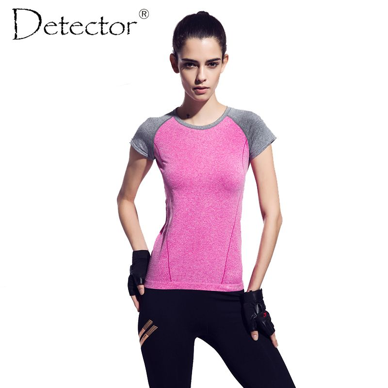 3d3c90453 Free Delivery Detector Dry Quick gym t shirt compression tights womens  sport t shirts //Price: $26 & FREE Shipping to USA //  www.fitnessamerica.store // # ...