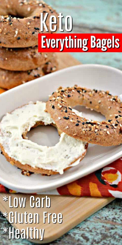 Keto Everything Bagels Recipe in 2020 Homemade bagels