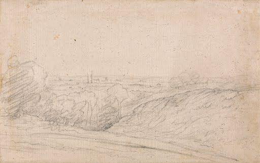 Dedham Vale from Langham  John Constablebetween 1803 and 1837