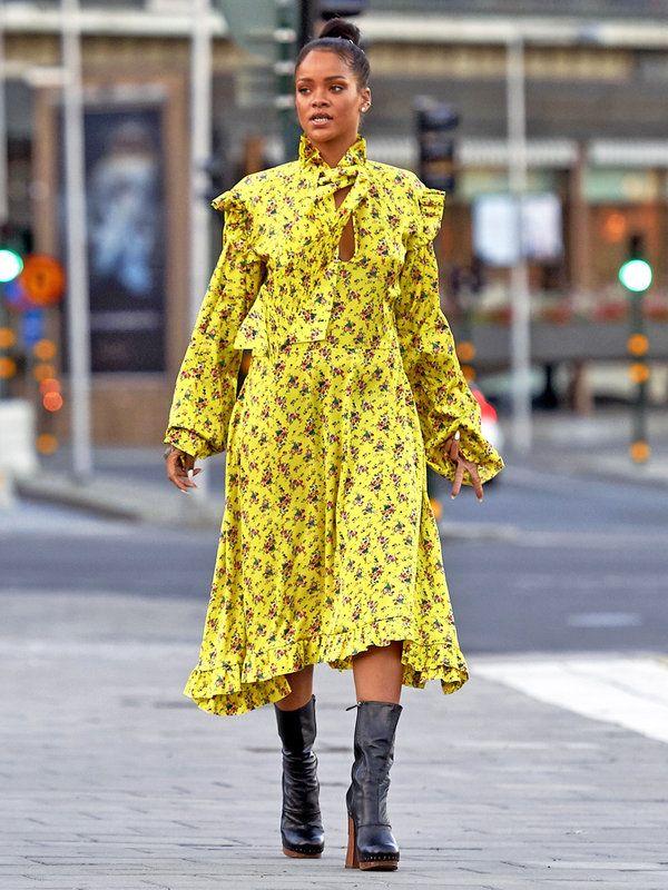 ファッショニスタ最注目ブランドをリアーナが着こなす