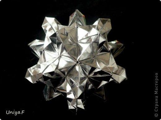 Кусудама Мастер класс Оригами Altair Туториал Бумага фото