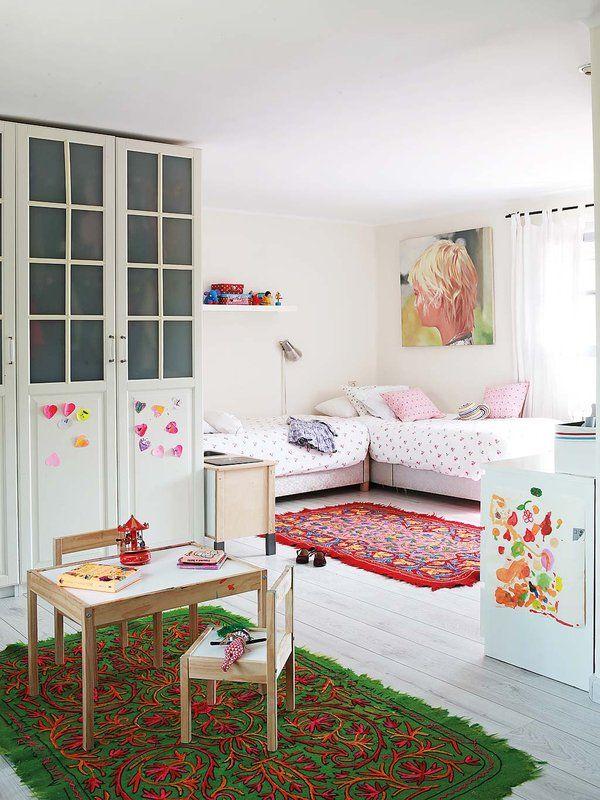 Dormitorio Para Dos Hermanas Dormitorios Habitaciones Compartidas Habitaciones Infantiles