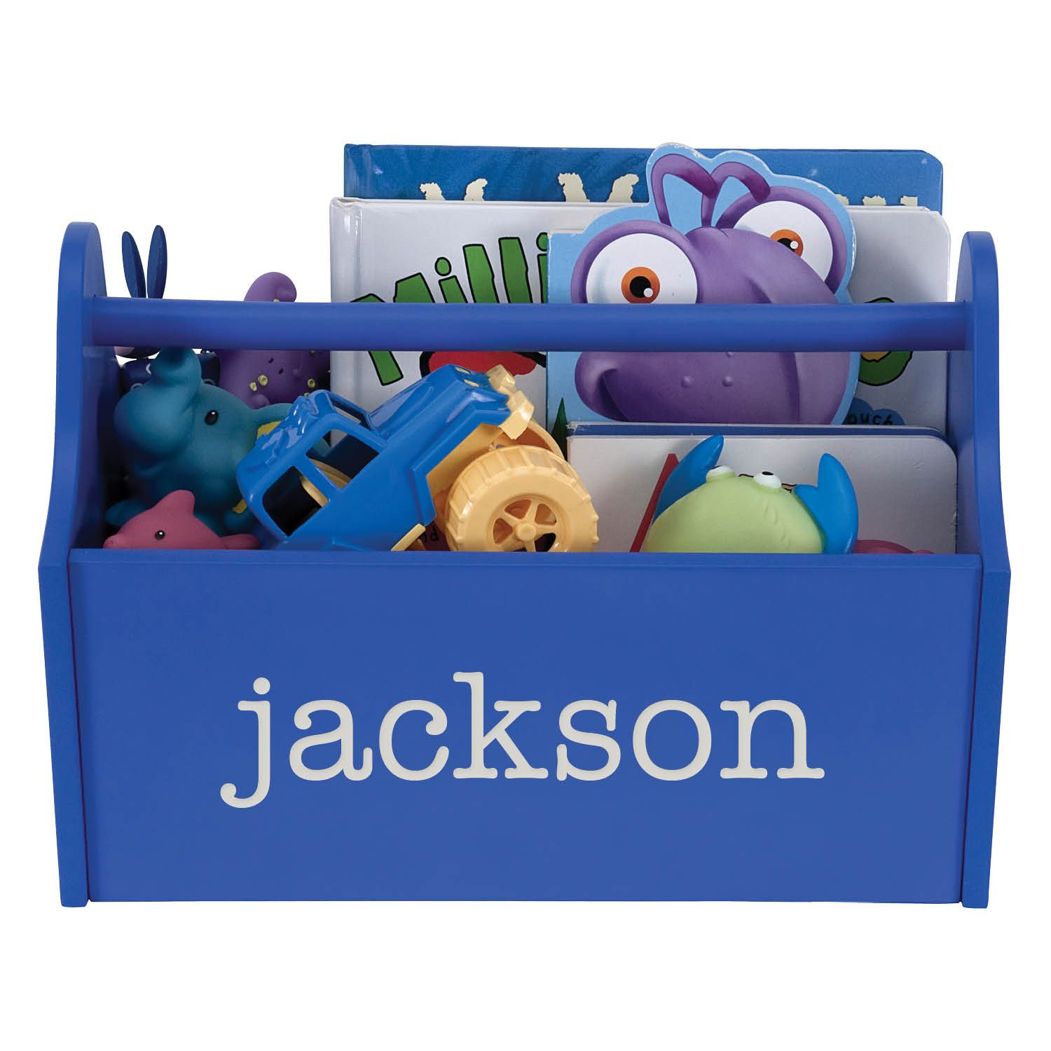 Personalized Bedroom Decor Personalized Red Toy Caddy Room Decor Kids Personalized