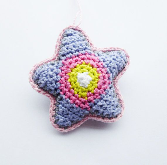 Star Ornament Pattern - English (US terms) and Dutch version available - Instant Download