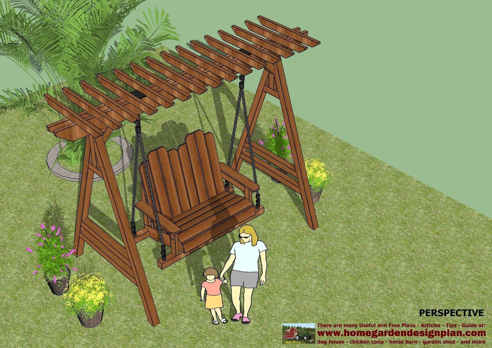 Home garden plans sw garden swing plans out door furniture