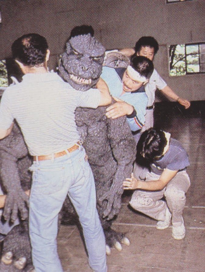 Today Kenpachiro Satsuma puts on the brand new Godzilla 1985 suit