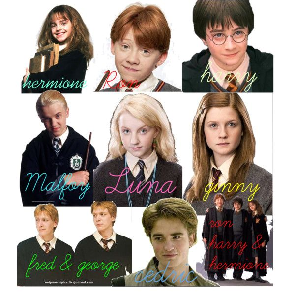 Harry Potter Characters Polyvore Harry Potter Quotes Funny Harry Potter Characters Harry Potter Main Characters