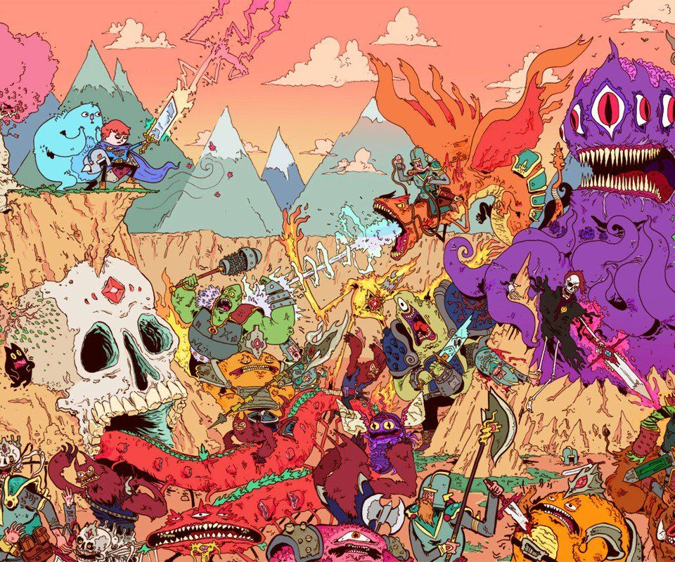 Adventure Time Is Trippy At A 6 Adventure Time Wallpaper Adventure Time Cartoon Cartoon Wallpaper