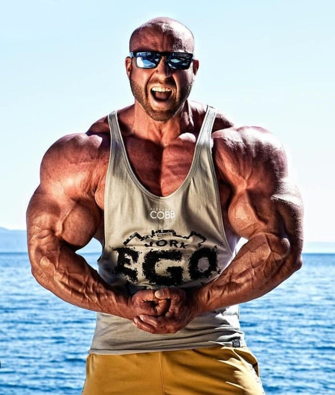 Muscular Sexy Naked Man Posing Studio Stock Photos